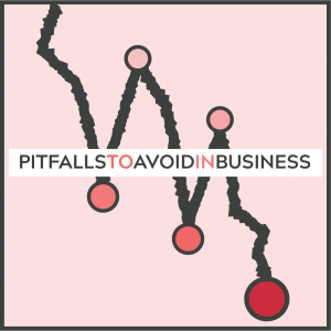 pitfalls to avoid in business graph decline negative
